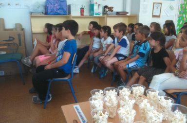 cine en clase