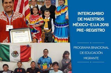 INICIO PRE-REGISTRO DE INTERCAMBIO DE MAESTROS CON EE.UU