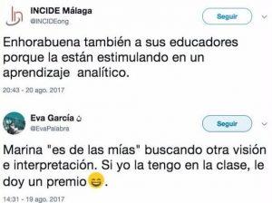 RESPUESTA DE UNA NIÑA DE SIETE AÑOS