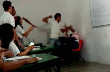 9 DE CADA 10 PROFESORES SUFRE VIOLENCIA EN CLASES