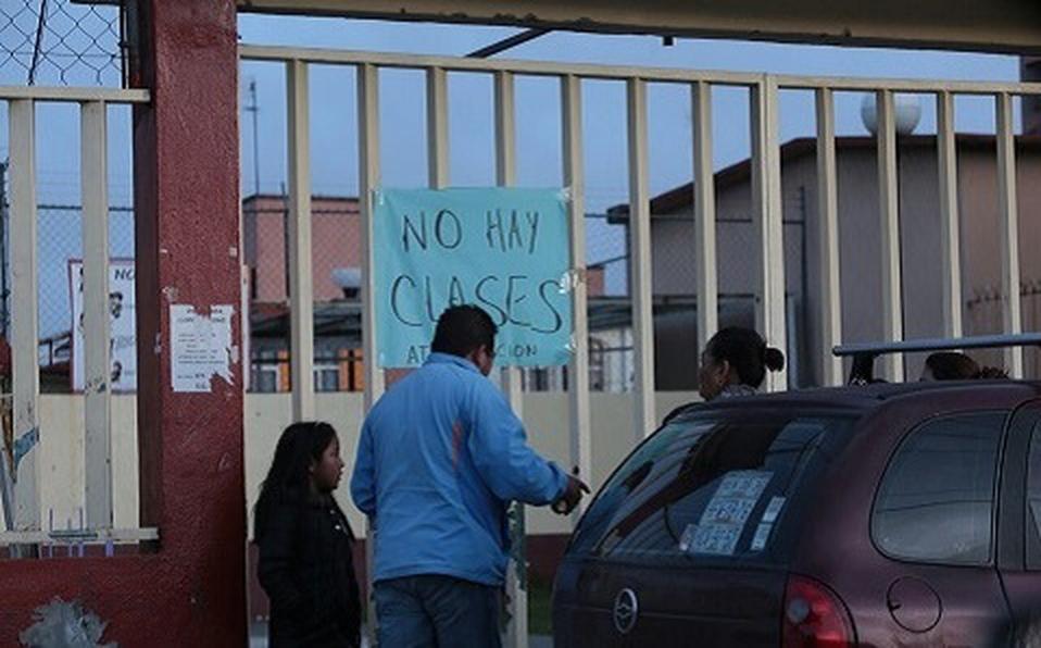 ¡DE ULTIMA HORA! SUSPENDEN CLASES POR FUGA DE GAS