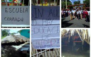 ENCIERRAN A MAESTROS DE TABASCO EN PROTESTA